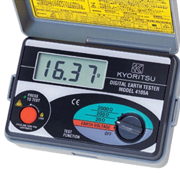 Voltage meter and soil resistivity